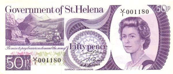 Saint Helena 50 Pence