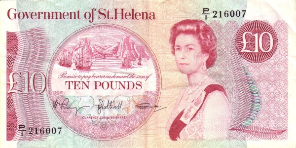Saint Helena 10 Pounds
