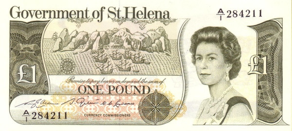 Saint Helena 1 Pound(1981-1986)