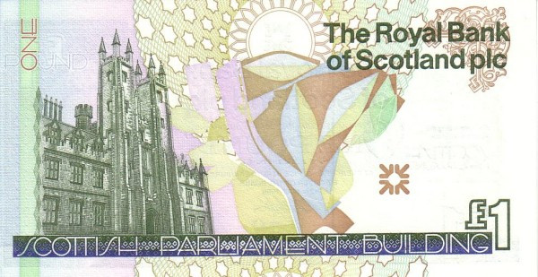 Scotland 1 Pound (Royal Bank of Scotland)