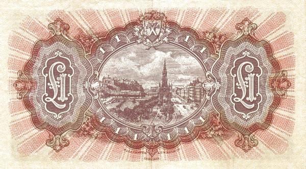 Scotland 1 Pound (1934-1959 National Bank of Scotland Ltd.)