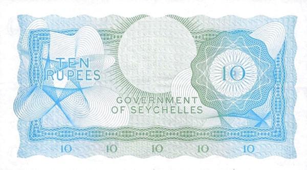 "Seychelles 10 Rupees(1968-1975 Elizabeth II"" )"""