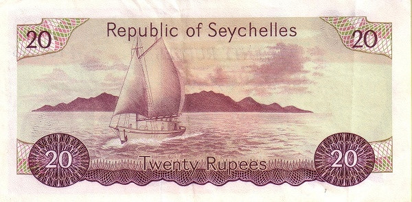 "Seychelles 20 Rupees(1976-1977 President Mancham"" )"""