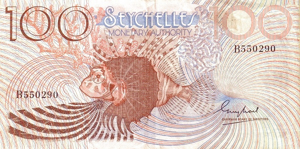 Seychelles 100 Rupees(1980)