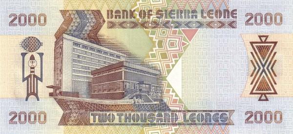 Sierra Leone 2000 Leones (2000)