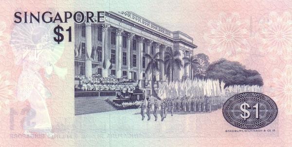 "Singapore 1 Dollar (1976-1980 Birds"" )"""