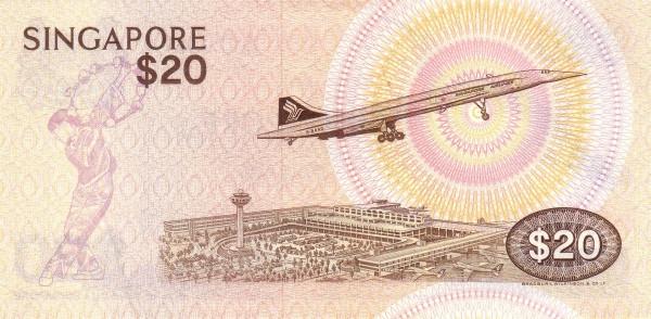 "Singapore 20 Dollars (1976-1980 Birds"" )"""