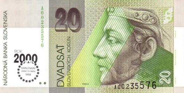 Slovakia 20 Korún