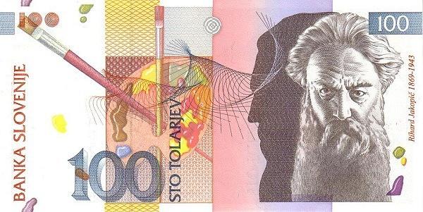 Slovenia 100 Tolarjev (1992-2005 )