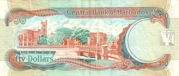 Barbados 50 Dollars (Signature Williams)