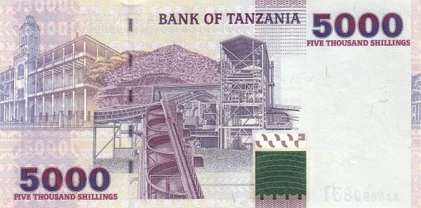 Tanzania 5000 Shilingi (2003-2006)