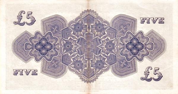 """Tonga 5 Pounds (1941-1966 Pound"""")"""""""