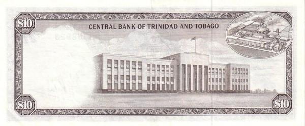 """Trinidad and Tobago 10 Dollars (1977 Arms"""")"""""""
