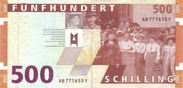 Austria 500 Schilling