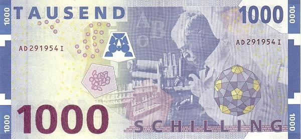 Austria 1000 Schilling