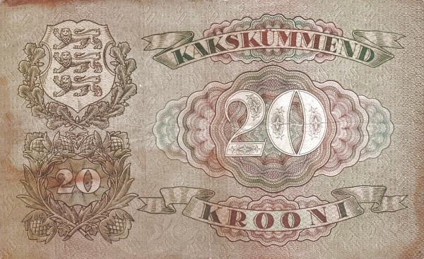 Estonia 20 Krooni
