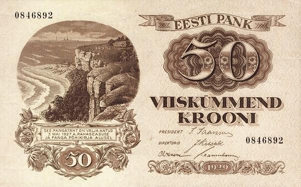 Estonia 50 Krooni
