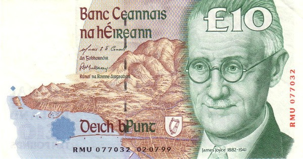 Ireland 10 Pounds (1992-2001 Central Bank of Ireland)