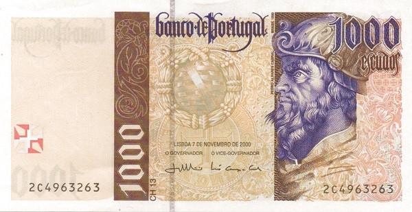 Portugal 1000 Escudos