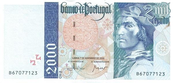 Portugal 2000 Escudos