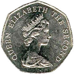Falkland Islands 50 pence
