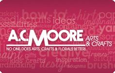 A.C. Moore - 50%