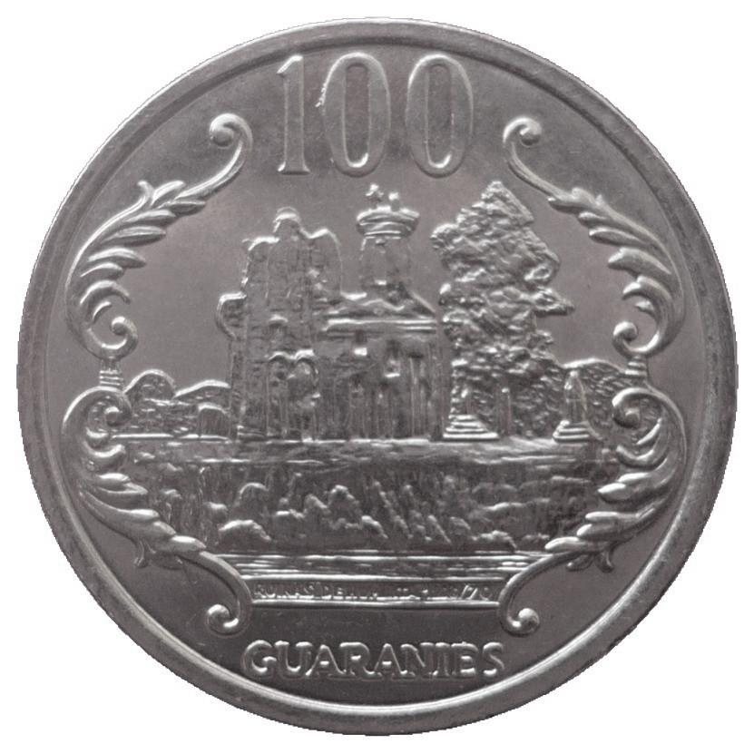 Paraguay 100 Guaranies