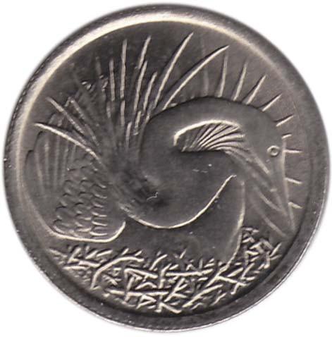 Singapore 5 Cents