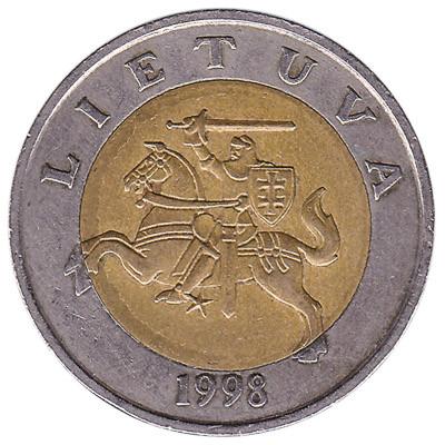Lithuania 5 Litai