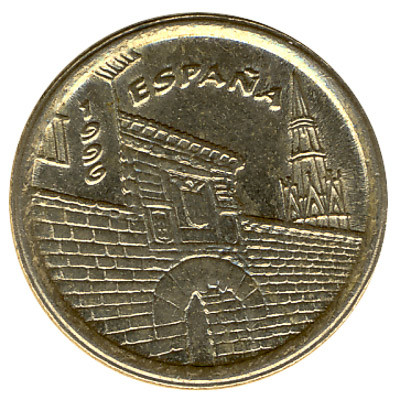 Spain 5 Pesetas