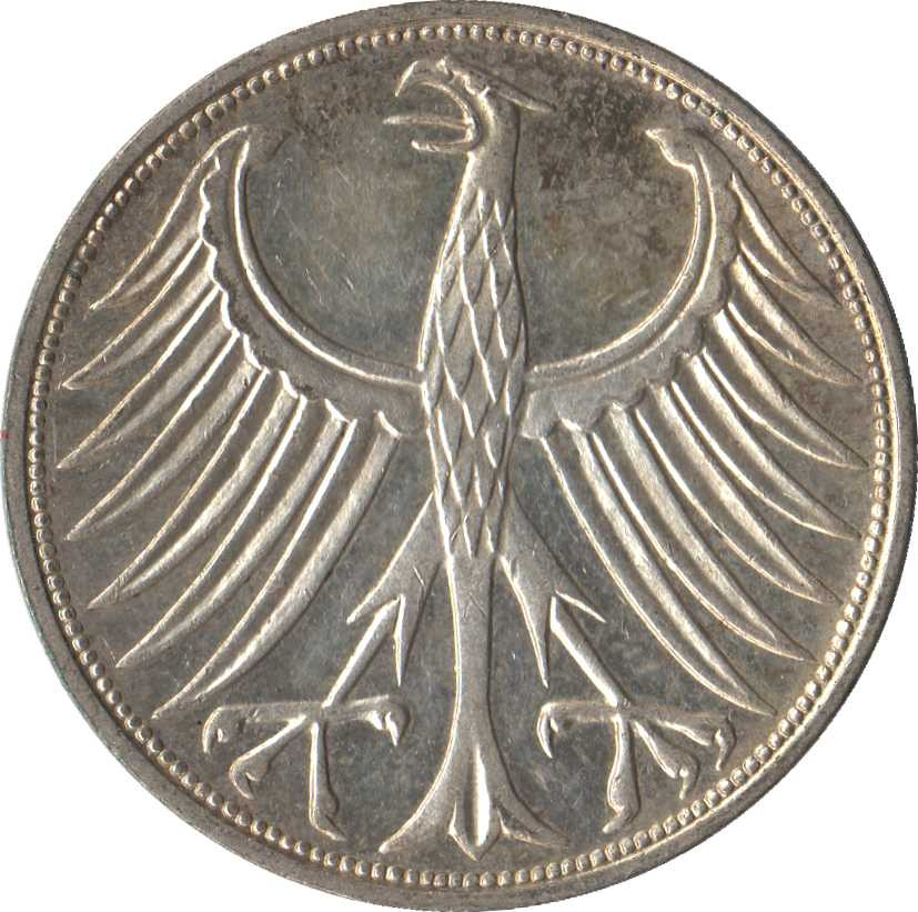 Germany 5 Deutsche Mark