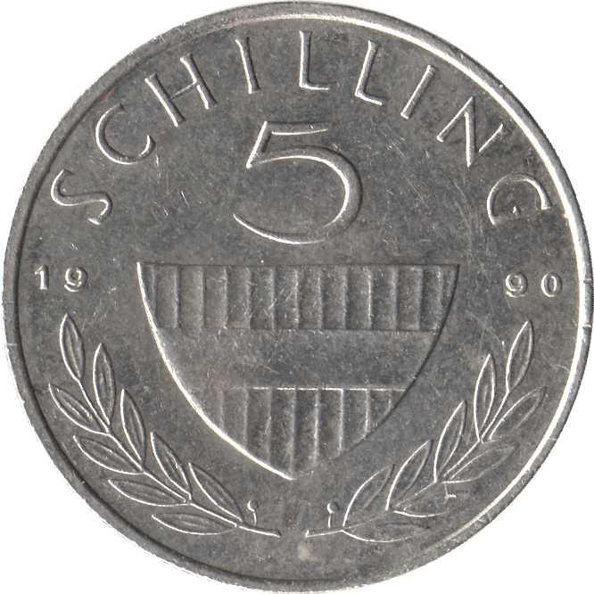 Austria 5 Schilling