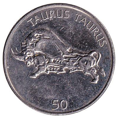 Slovenia 50 Tolarjev