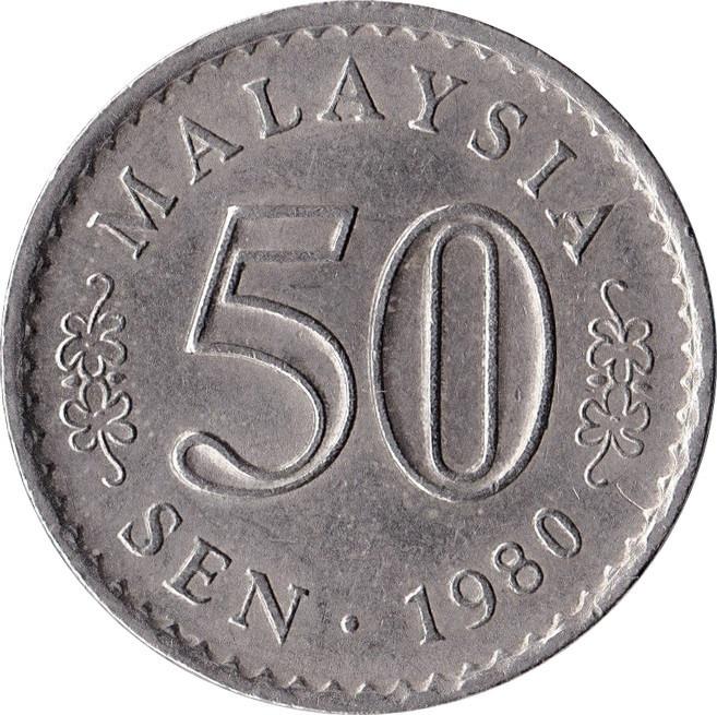 Malaysia 50 Sen