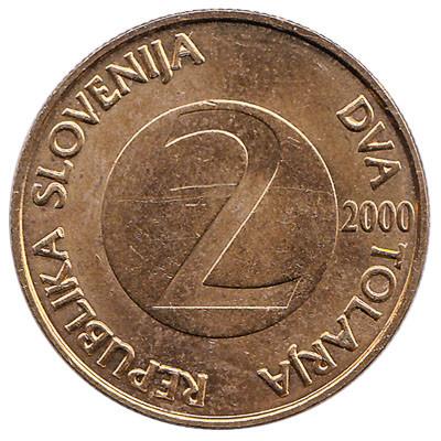 Slovenia 2 Tolarja