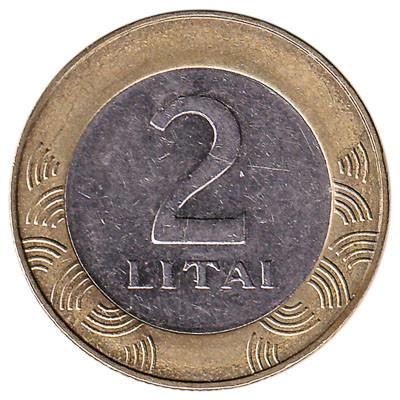 Lithuania 2 Litai