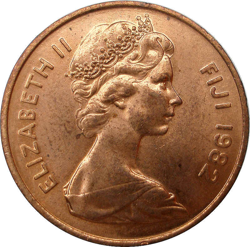 Fiji 2 Cents
