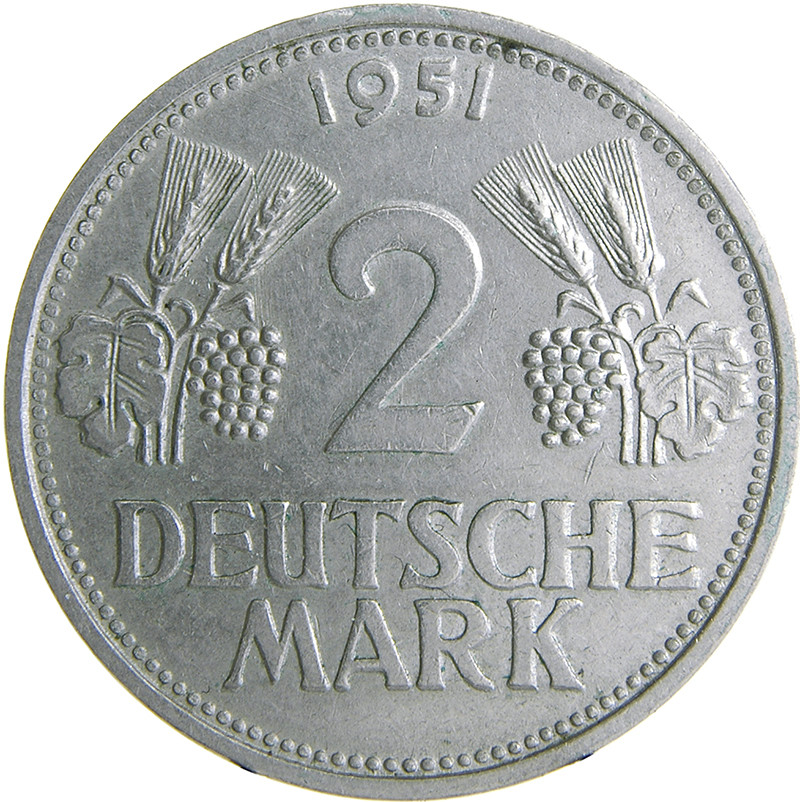Germany 2 Deutsche Mark