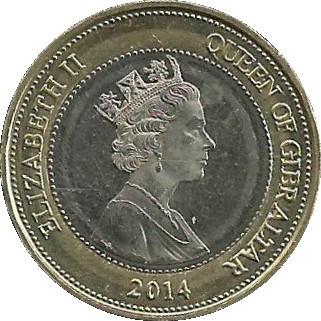 Gibraltar 2 Pounds