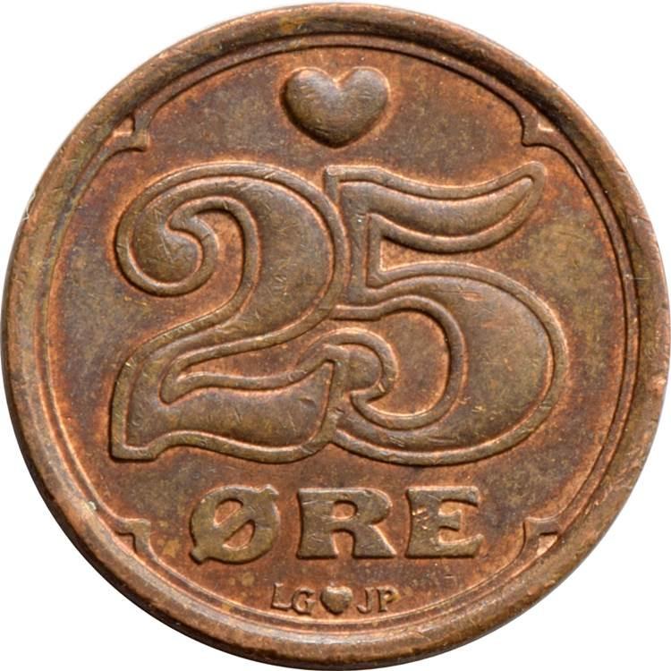 Denmark 25 Øre