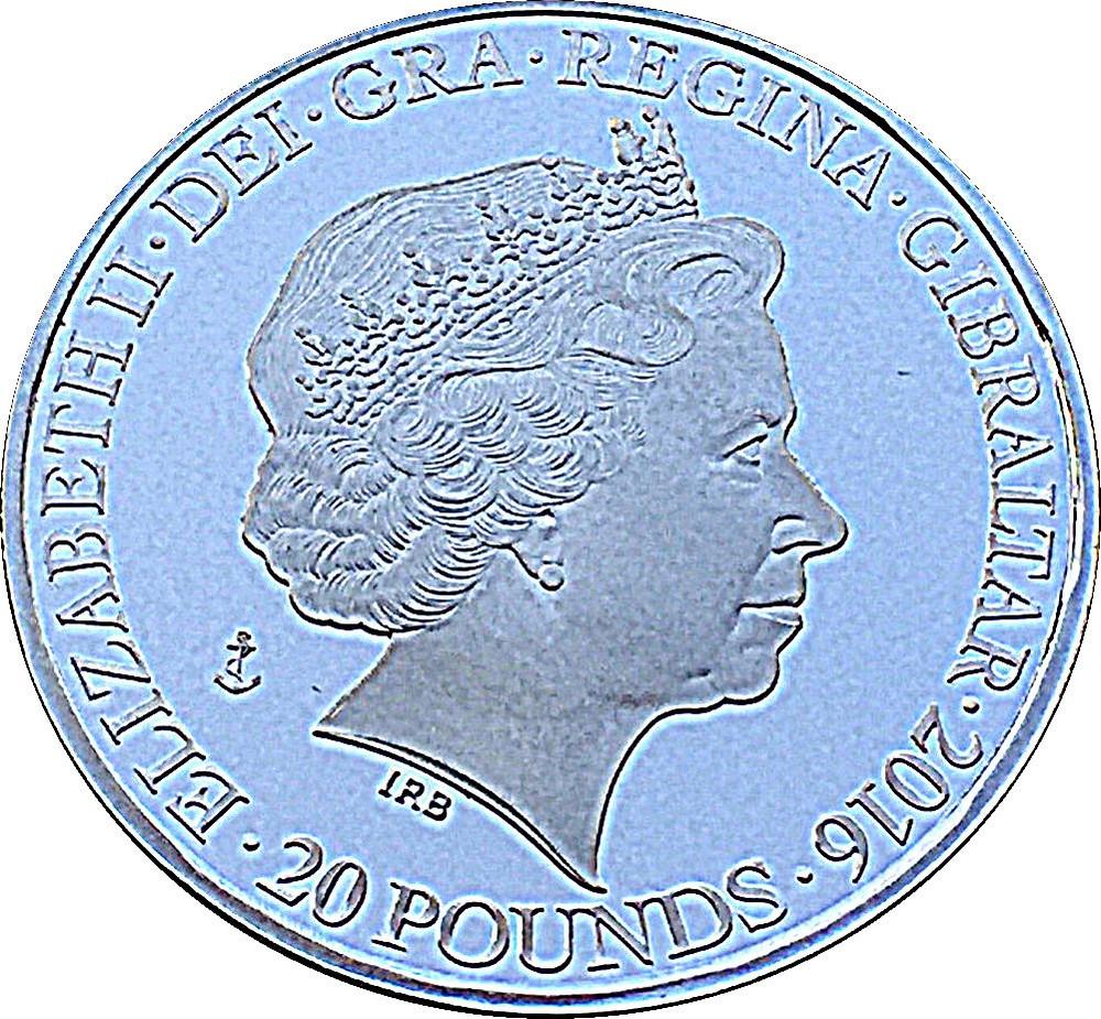 Gibraltar 20 Pounds