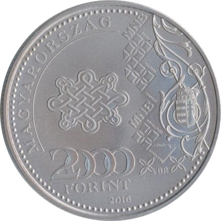 Hungary 2000 Forints (70 Years Of Forint)