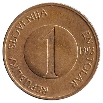 Slovenia 1 Tolar