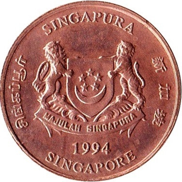 Singapore 1 Cent