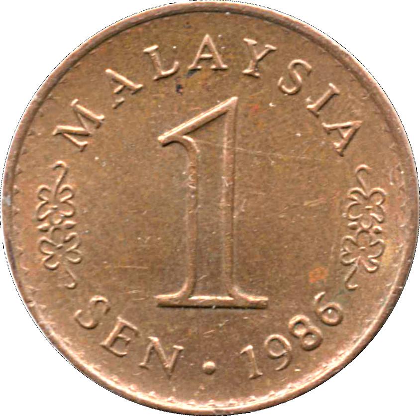Malaysia 1 Sen