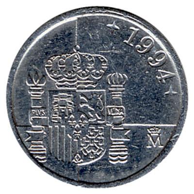 Spain 1 Peseta