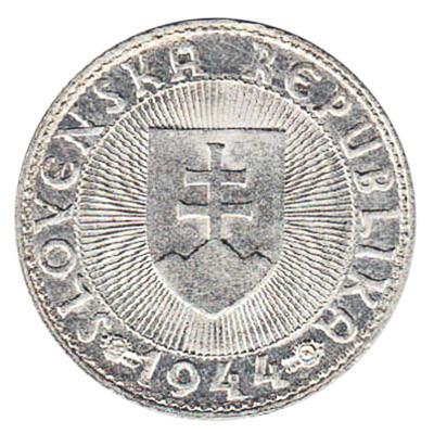 Slovakia 10 Koruna (Silver-Coloured)