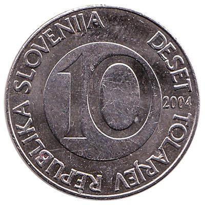 Slovenia 10 Tolarjev