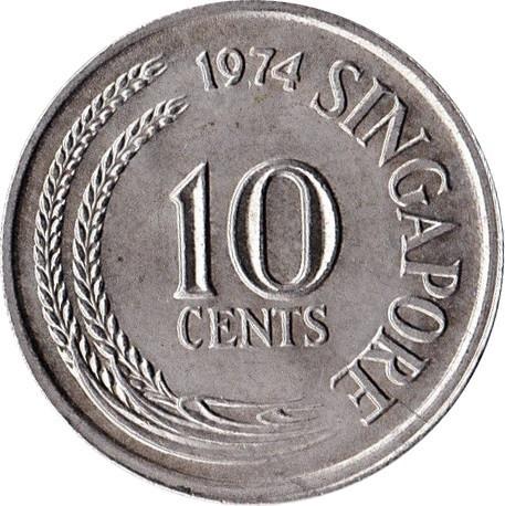 Singapore 10 Cents