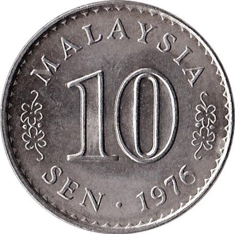 Malaysia 10 Sen